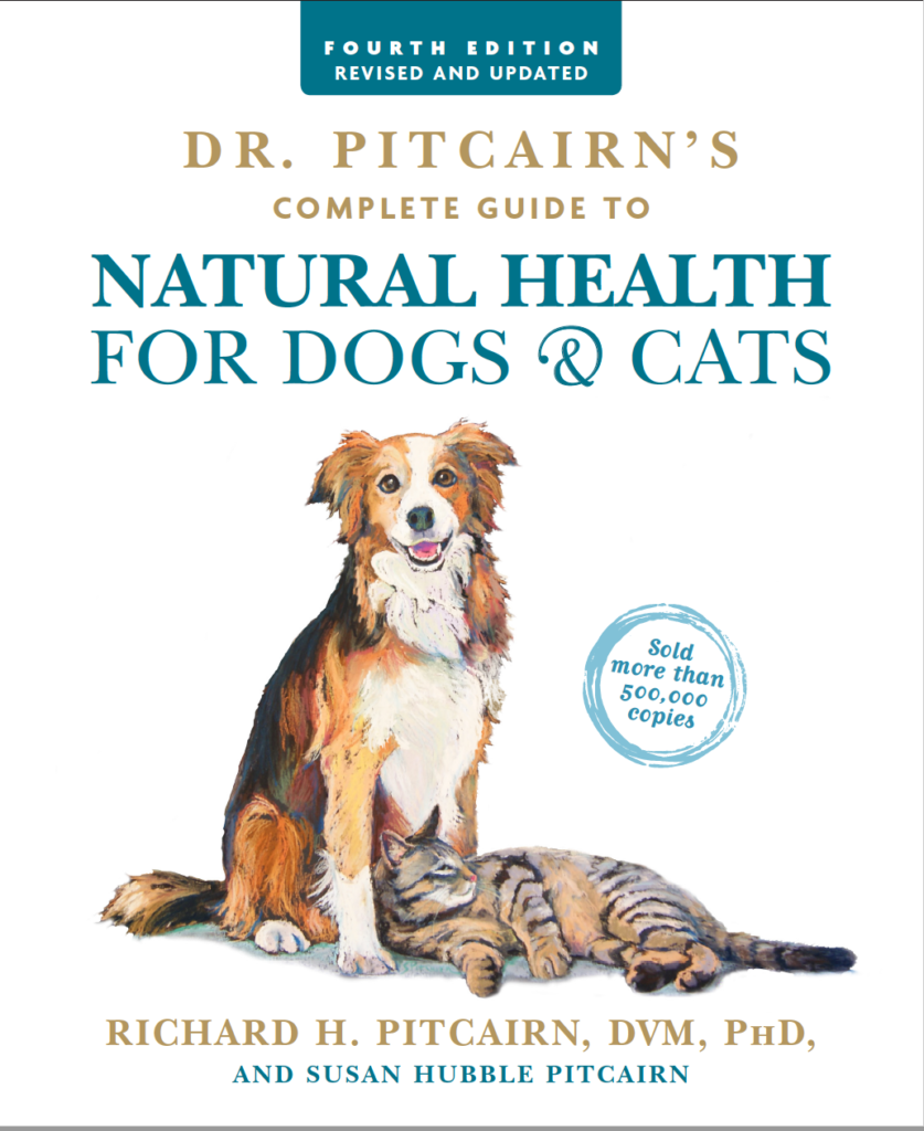Natural Nutrition For Cats And Dogs Book Cover